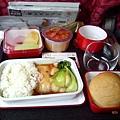 飛往南京的中餐:鱈魚飯