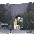 明代南京城古城牆-解放門