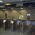 南京地鐵_三山街站出口閘