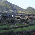 路邊的農村聚落