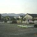 西遞村的廣場
