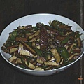 西遞人的晚餐,炒豆干