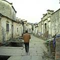 西遞村的主要幹道
