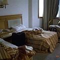 晚上入住的黃山(屯溪)賓館內部