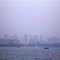 從西湖遠眺杭州市