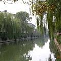 蘇州木瀆鎮的運河