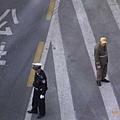 上海市公安和交管員