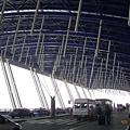 浦東機場到了