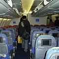 這班飛機的座椅比較高級