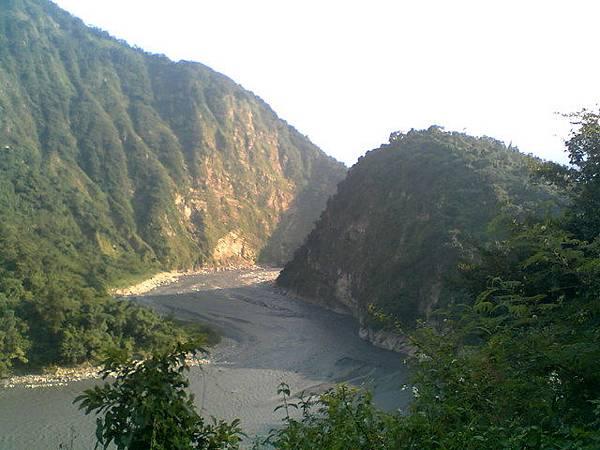 濁水溪匯流