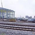 施工中的高鐵左營站