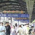 高雄臨時站月台天橋