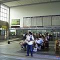 台東車站寬敞的大廳