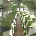冰魚搭乘的560次白鐵仔內部(座椅未更新)
