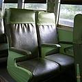 白鐵仔舊座椅的特寫