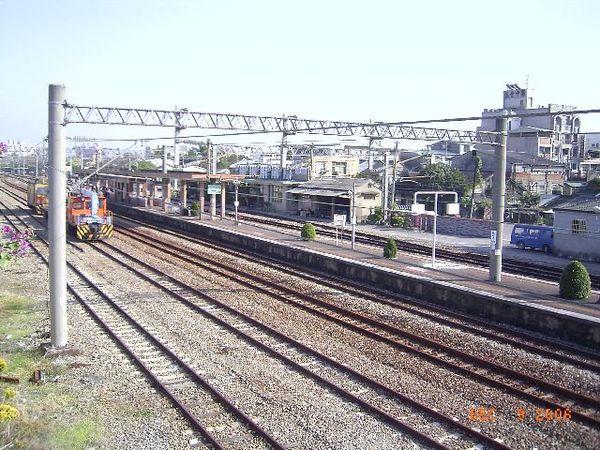(舊)烏日站月台