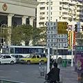 南京市龍蟠中路-好細的路標