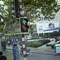 南京市珠江路-人行專用紅綠燈