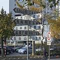 南京市-又見到這種複雜的指示標了