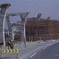 富陽市G320國道-興建中的高架橋