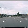 過了白沙屯,台1線一路好走,路幅均3車道以上,右邊為海線鐵路
