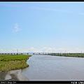 蘭陽溪,前方為國道5號