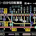 台61白沙屯-彰濱配置圖
