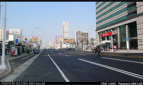 R8三多商圈-復舊後的中山二路,取消慢車道
