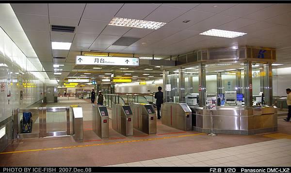 R7獅甲站-站內穿堂層