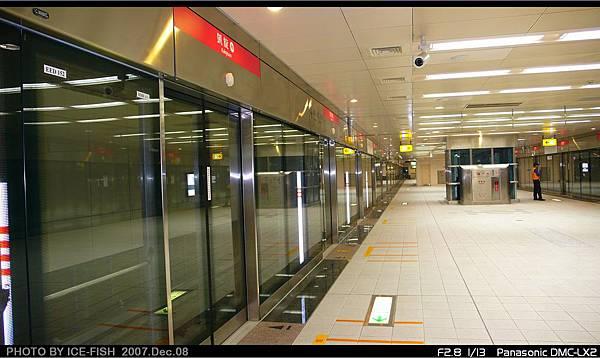 R6凱旋站-月台及月台門