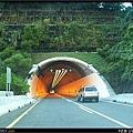 八卦山隧道西行線入口
