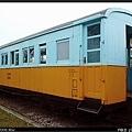 LTPB1375木造三等客車,白色變成淺藍色