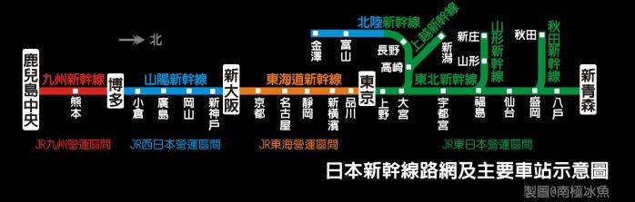 新幹線路網2015