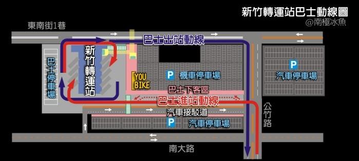 新竹轉運站公車