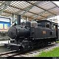 鐵道文物館最角落的LDK59蒸氣車頭
