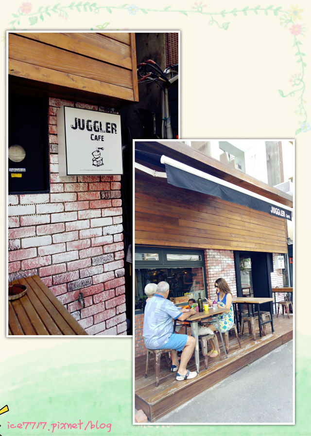 Juggler Cafe門口
