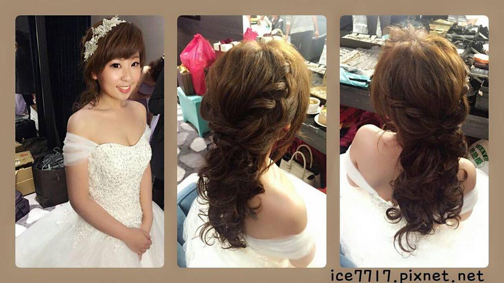 第一個造型-浪漫公主編髮