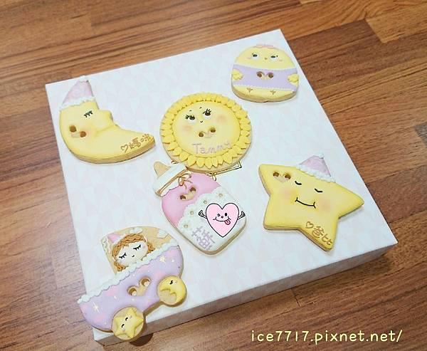 客製化收涎糖霜餅乾♥M.Studio回憶工坊