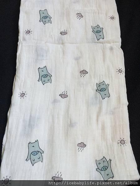 美國伯斯馬丁muslin棉紗多功能毯