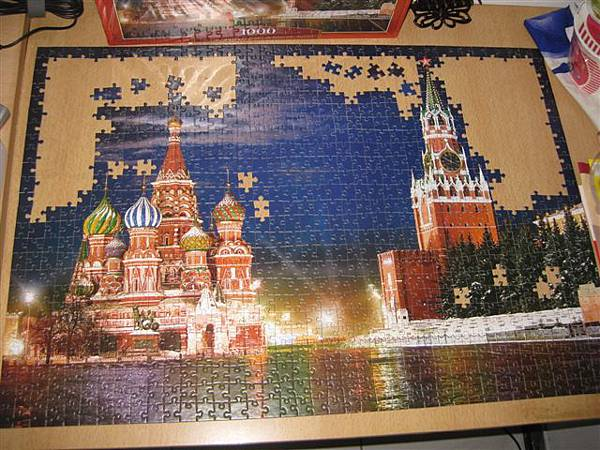 2011.09.08 1000 pcs 俄羅斯.紅場的夜晚  Red Square by Night in Moscow, Russia (3).JPG