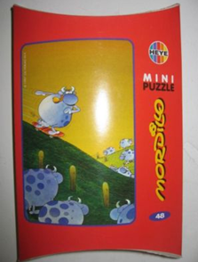 HEYE Mini Puzzle by MORDILLO 48 Pieces - NIB (Red).png
