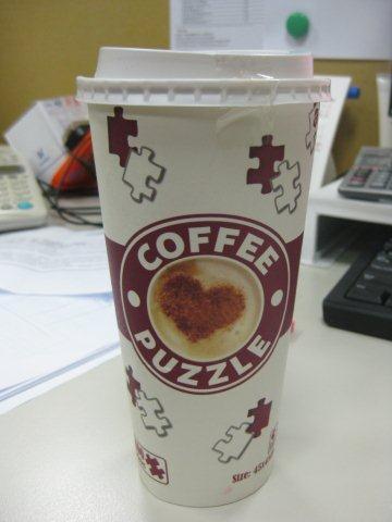 2012.02.22 400 pcs Coffee Puzzle (1)