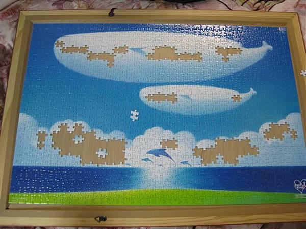2012.02.26 1000 pcs 青空的季節 The Season of Blue Sky (10).JPG