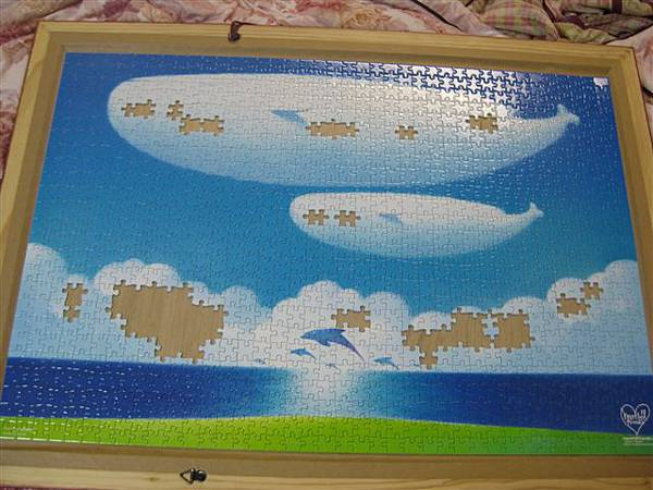 2012.02.26 1000 pcs 青空的季節 The Season of Blue Sky (11).JPG