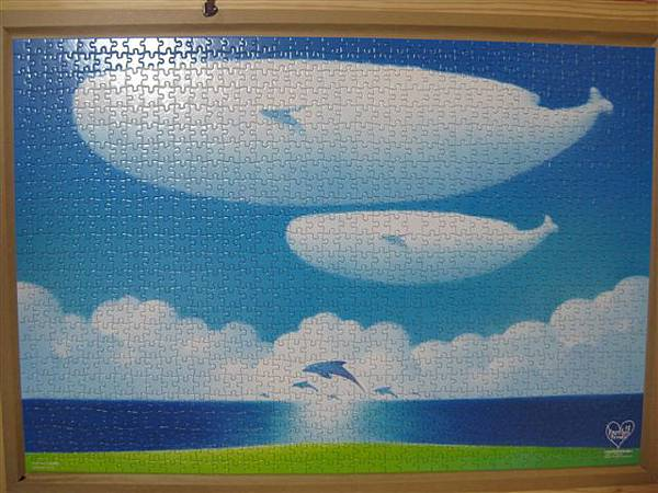 2012.02.26 1000 pcs 青空的季節 The Season of Blue Sky (12).JPG