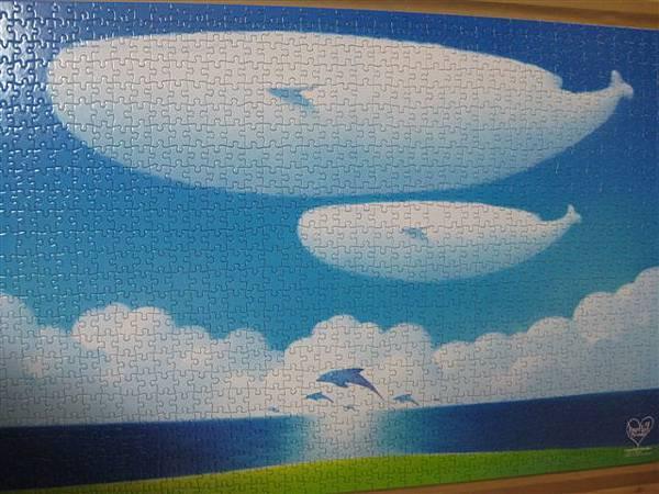 2012.02.26 1000 pcs 青空的季節 The Season of Blue Sky (13).JPG