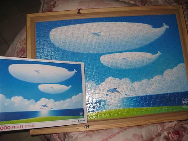 2012.02.26 1000 pcs 青空的季節 The Season of Blue Sky (16).JPG