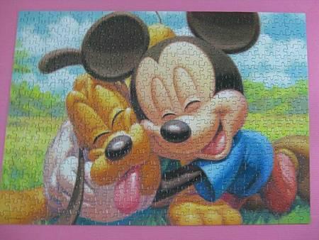 2012.03.29 500 pcs Best Friends 米老鼠及高飛 (6)