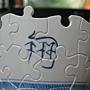 2012.05.11 160P Puzzle Vase 藍鳳和鳴 (4)