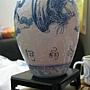 2012.05.11 160P Puzzle Vase 藍鳳和鳴 (7)